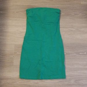 Emerald Green Tube Dress